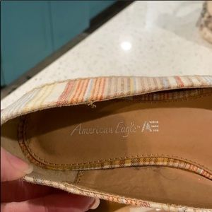 American Eagle Outfitters Shoes - American Eagle GUC wedgies